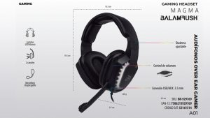 Gaming Headset MAGMA Balamrush
